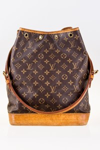 Louis Vuitton Noe Monogram Canvas Large Shoulder Bag