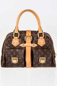 Louis Vuitton Monogram Canvas Manhattan GM Shoulder Bag