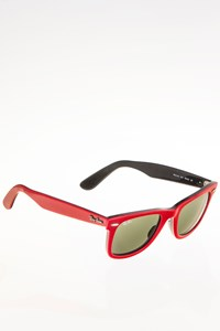 Ray Ban RB2140 955 Original Wayfarer Red Acetate Sunglasses