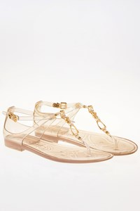 Ralph Lauren Karly Clear Jelly Sandals / Size: 10B(40) - Fit: True to size