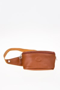 Longchamp Tan Leather Waist Bag
