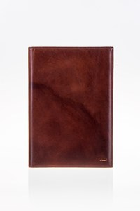 Zanellato Brown Leather Document Holder