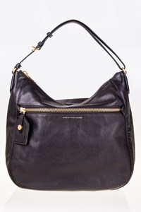 Marc By Marc Jacobs Wild Wild Willa Black Leather Hobo Bag