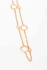 Bulgari 18K Rose Gold Necklace