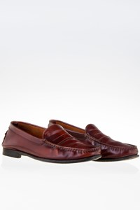 Tod's Tan Leather Penny Loafers / Size: 6½ (40.5) - Fit: True to size