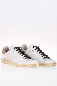Isabel Marant Etoile Bart White Leather Sneakers / Size: 39 - Fit: 38.5