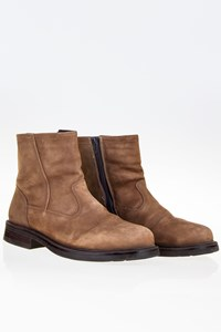 Spoiler Beige Suede Leather Men's Boots / Size: 41 - Fit: True to size