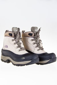 The North Face Chilkat Beige Waterproof Boots / Size: 38 - Fit: True to size