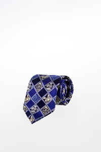 Lanvin Multicoloured Silk Tie with Print