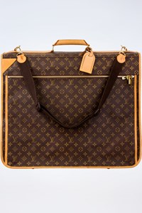 Louis Vuitton Monogram Canvas Garment Bag with Shoulder Strap