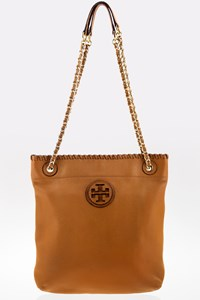 Tory Burch Tan Marion Swingpack Shoulder Bag