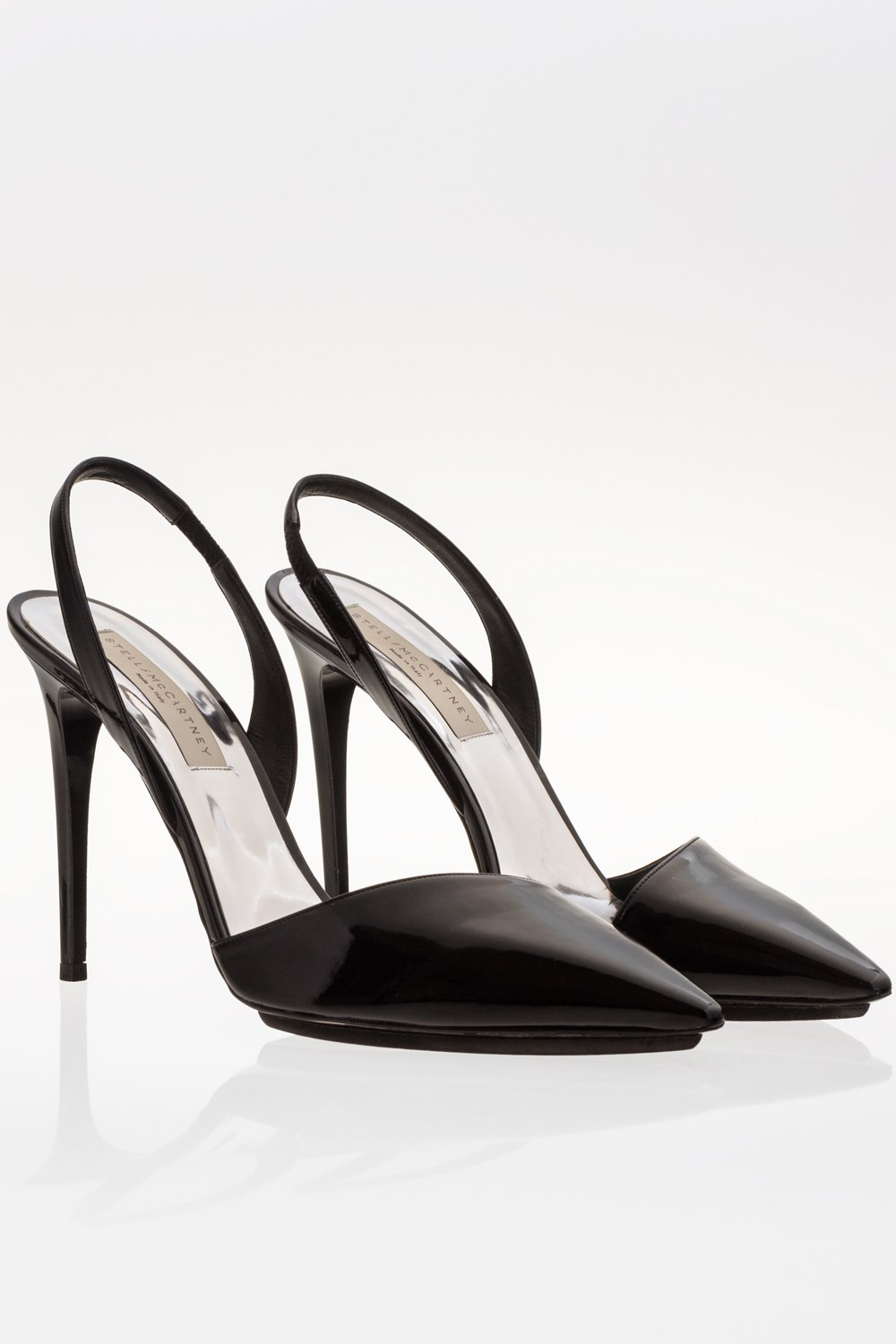 Morgana Black Patent Leather Pointed