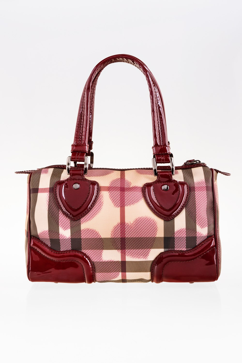Supernova Check Canvas Heart Chester Bag ba611bef922a7
