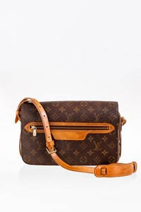 Louis Vuitton Saint Germain Monogram Vintage Crossbody Bag