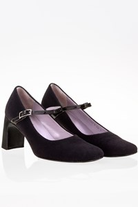 Gucci Black Felted Pumps / Size: 38 C - Fit: True to size