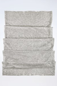Joseph Grey Cashmere Knitted Scarf