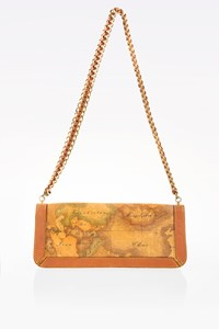 Alviero Martini 1ª Classe Geo Pochette Bag with Chain