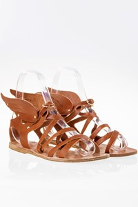 Ancient Greek Sandals Nephele Tan Leather Sandals / Size: 39 - Fit: True to size
