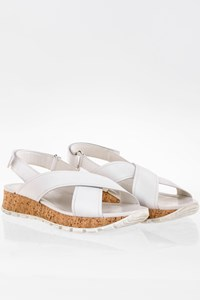 Prada Sport Linea Rossa Crisscross Cork Sandals / Size: 39 - Fit: True to size