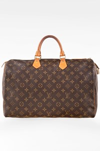 Louis Vuitton Monogram Canvas Speedy 40 Tote Bag