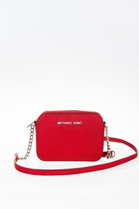 MICHAEL Michael Kors Red Jet Set Travel Mini Crossbody Bag