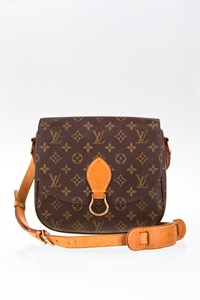 Louis Vuitton Monogram Canvas Saint Cloud GM Shoulder Bag