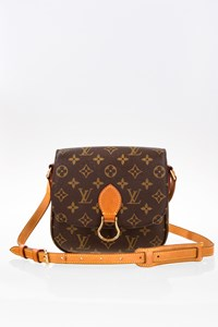 Louis Vuitton Vintage Monogram Canvas Saint Cloud MM Shoulder Bag