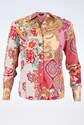 Etro Multicolour Shirt with Paisley and Floral Print / Size: 38 IT - Fit: XS