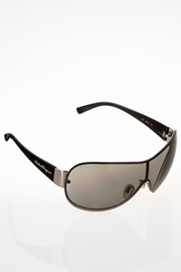 Salvatore Ferragamo 1118503/87 Black Acetate Mask Sunglasses