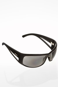 Prada SPR 09F Black Acetate Sunglasses with Cut-Out Arms