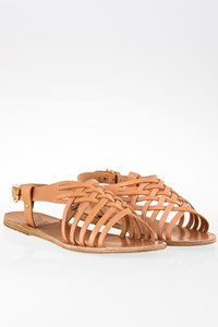 Ancient Greek Sandals Plekti Maria Woven Leather Sandals / Size: 40 - Fit: True to size