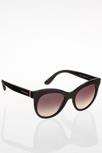 Dolce & Gabbana DG 4311 Black Cat Eye Acetate Sunglasses