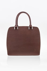 Louis Vuitton Mocha Pont-Neuf PM Epi Leather Bag