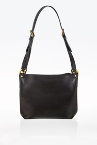 Louis Vuitton Black Mandara Epi Leather Shoulder Bag