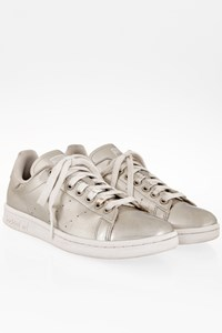 Adidas Stan Smith Boost Silver Metallic Sneakers / Size: 39 1/3 - Fit: 38