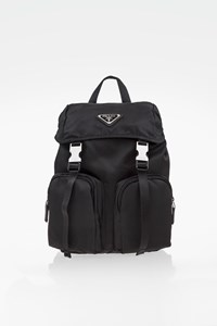 Prada Black Nylon Mini Backpack