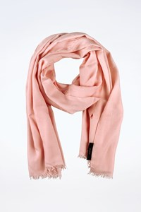 Gucci Light Pink Wool Shawl with GG