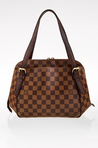 Louis Vuitton Damier Canvas Belem MM Tote Bag