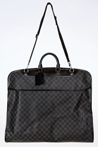Louis Vuitton Damier Graphite Canvas 2 Hangers Garment Bag