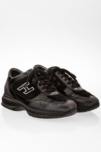 Hogan Black-Anthracite Interactive Sneakers / Size: 38 - Fit: 39