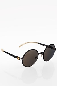 Mykita Black Metallic Decades Scarlett Sunglasses