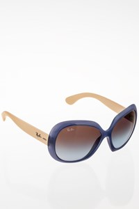 Ray Ban Jackie Ohh II Ecru-Blue Acetate Sunglasses
