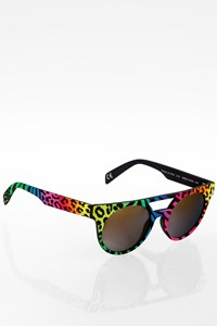 Italia Independent II 0903 Multicolour Animal Print Acetate Sunglasses