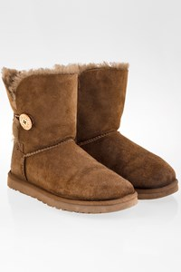 Ugg Taupe Bailey Button 2 Boots / Size: 39 - Fit: 38.5