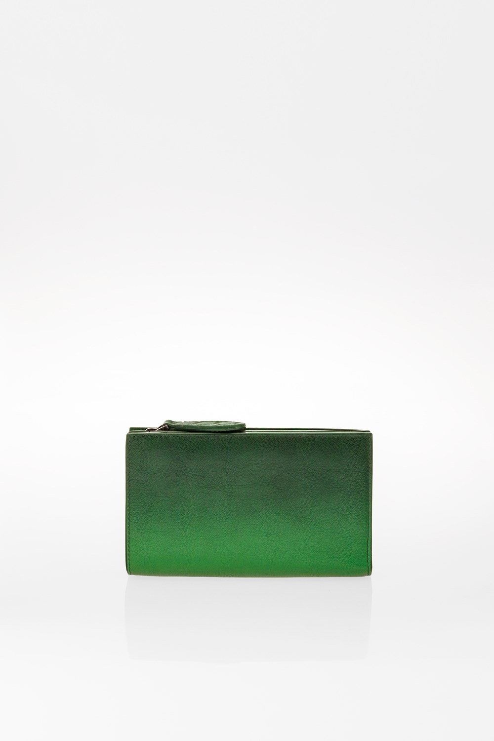 fb9acc5a1d Green Graduated Leather Wallet