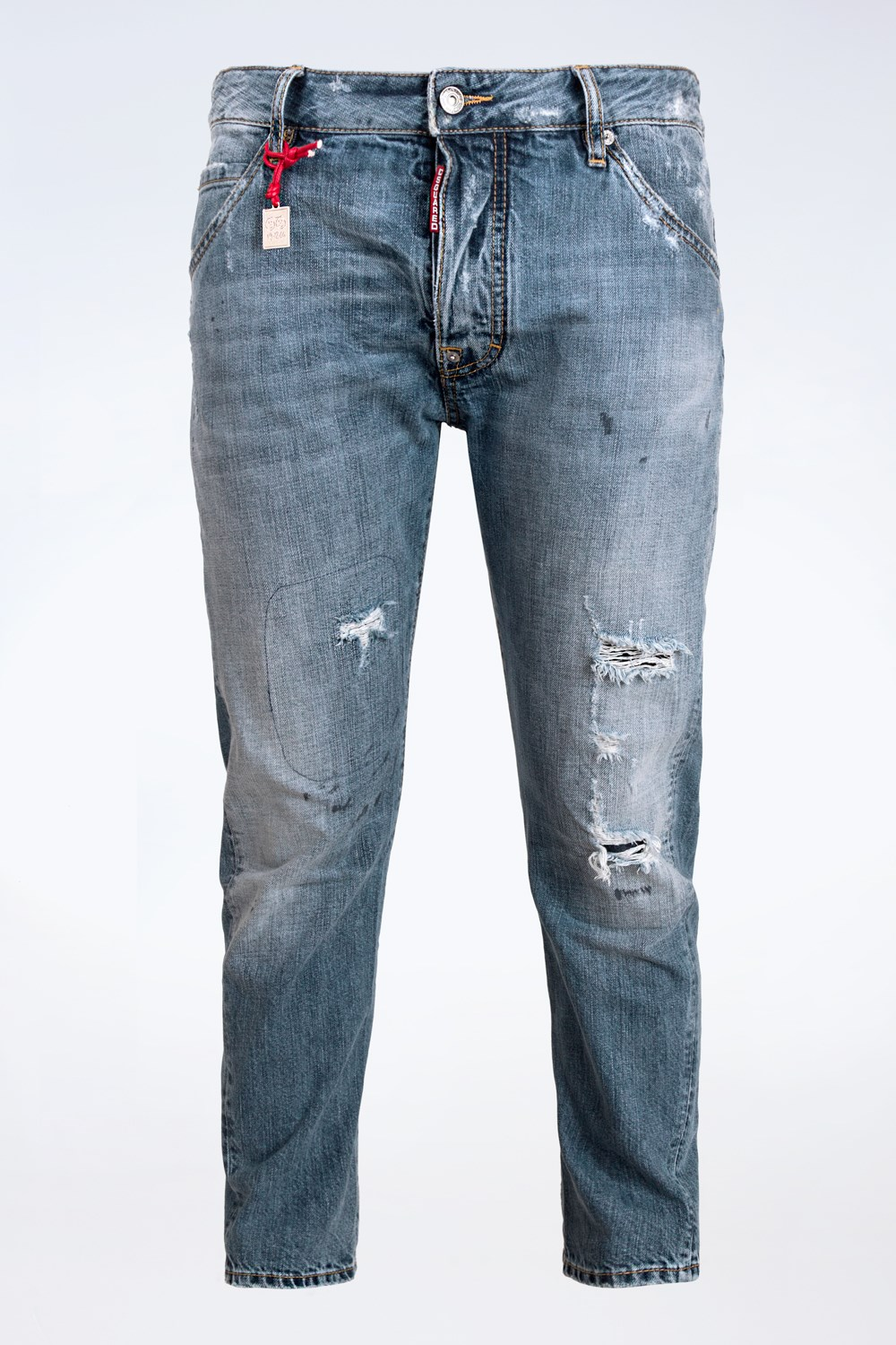 6a61a527c9d ... Light Blue Distressed Jeans   Size  46 IT - Fit  M. starbags video