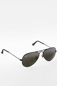 Ray Ban RB3025 Black Aviator Metal Sunglasses