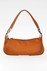 Escada Tan Eluna Leather Shoulder Bag