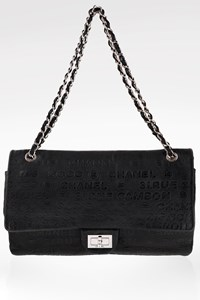 Chanel Black 31 Rue Cambon Leather Double Flap Bag