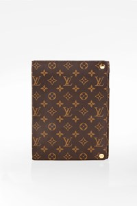 Louis Vuitton Brown Monogram Canvas Ipad 4 Case